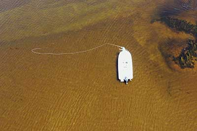 Sight Fishing on the Flats for stripers