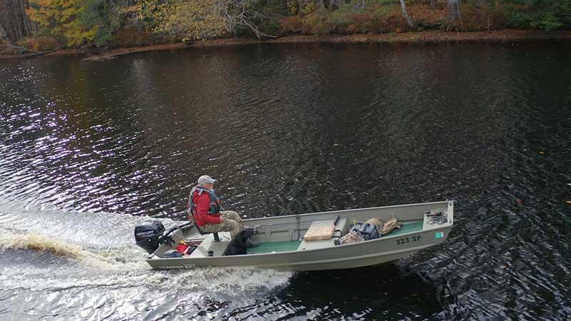 Maine Freshwater Bass Fishing