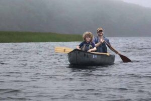 , Canoeing Midcoast Maine