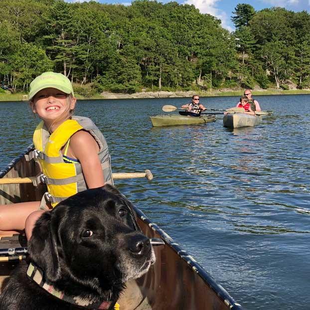 Family Canoe Trips Maine