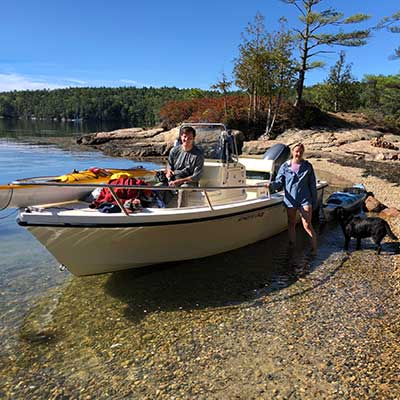 Powerboat Supported Kayak Trips